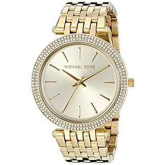Michael Kors Damen Analog Quarz Uhr mit Edelstahl Armband MK3191 7