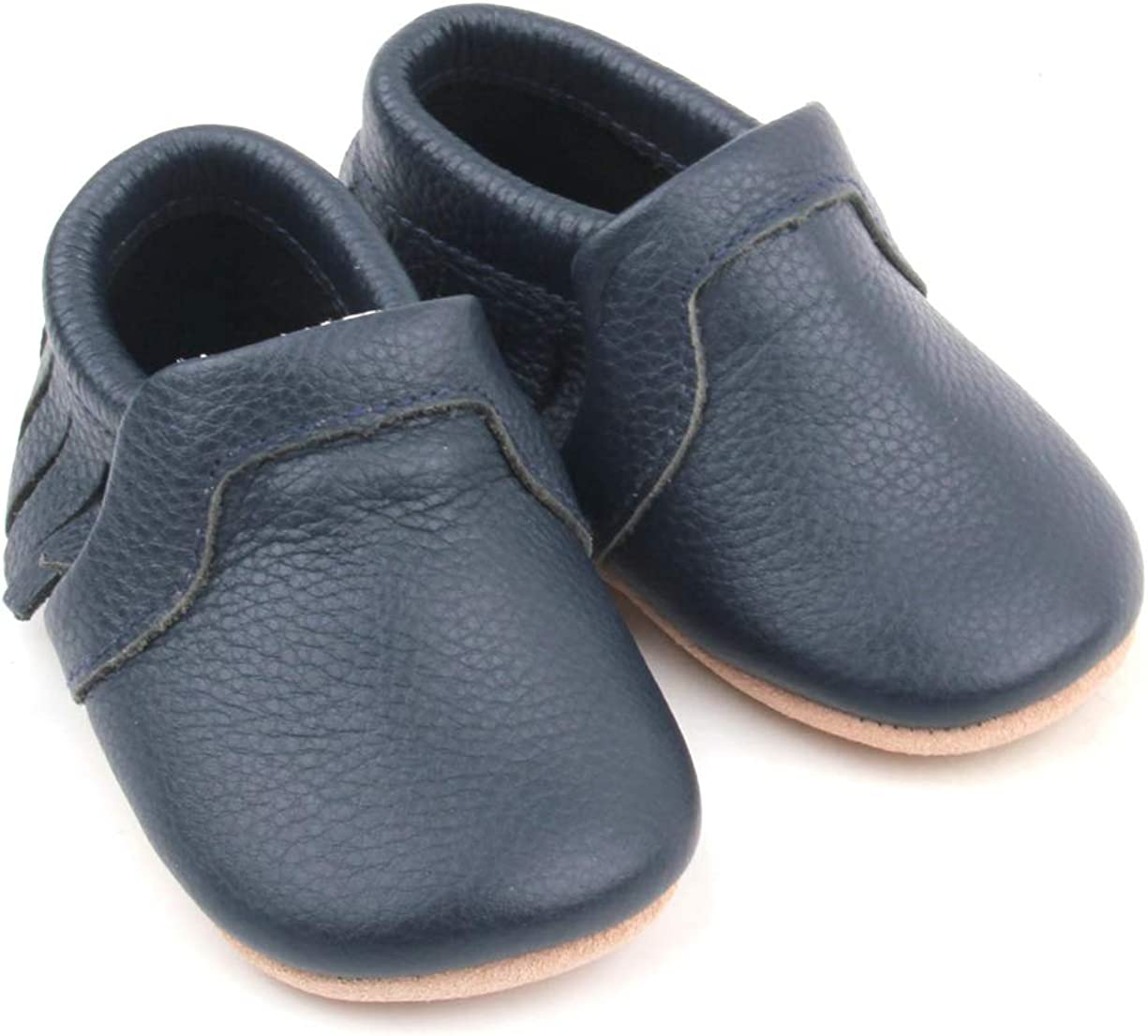 Premium Leather Baby Moccasins Sizes