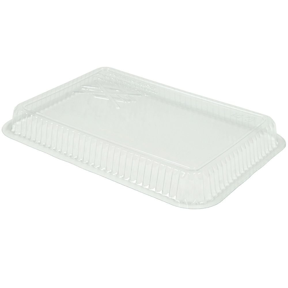 Ling Trasparent lid for aluminium foil tray 960ml PET (20 pieces)
