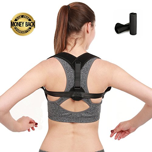 Posture Corrector for Women Men and Teens BesCarol Posture Support Effective and Comfortable Posture Brace Adjustable Back Posture Corrector Back Straightener Posture Corrector Upper Back Pain Relief by BesCarol