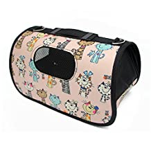 Folding Outdoor Pet Travel Bag for Dog Cat Airline Approved