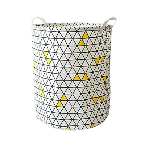 MOPOLIS Folding Geometry Dirty Clothes Toys Storage Bucket Dirty Laundry Basket GIFT | Colour - 4