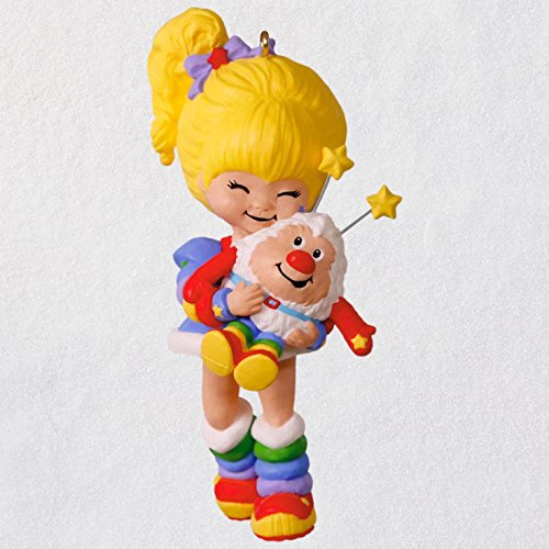 Hallmark Keepsake Christmas Ornament 2018 Year Dated, Rainbow Brite and Twink ()