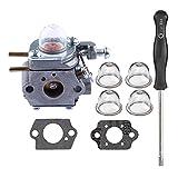 HIPA WT973 Carburetor + Carb Adjustment Tool for Bolens BL110 BL160 BL425 Cub Cadet BC210 BC280 CC212 CS202 SS270 String Trimmer Brushcutter