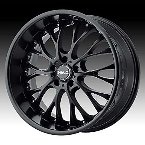 Helo HE890 Satin Black Wheel (20x8.5