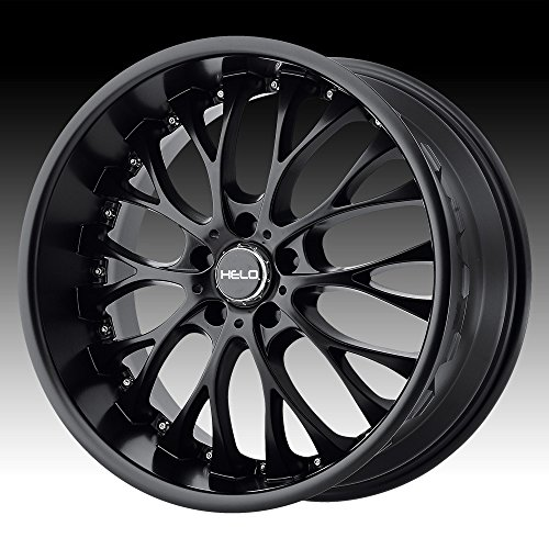 Helo HE890 Satin Black Wheel (20x10/5x114.3mm, 40mm (Infiniti G35 Rims)