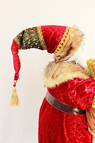 Windy Hill Collection 36'' Inch Standing Grand Santa Claus Christmas Figurine Figure Decoration 53603 by Windy Hill Collection (Image #4)