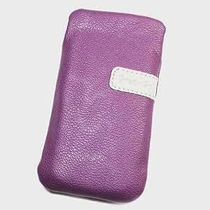 Duragadget-Funda de piel sintética, con tapa para Huawei Ascend Y210 L