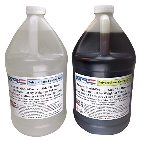 Model-Pro Polyurethane Casting Resin 4 Making Models 2 Gallon Kit