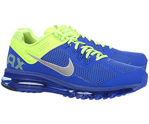 Nike Air Max 2013+ Mens Running Shoes 554886-403 Prize Blue 10.5 M US