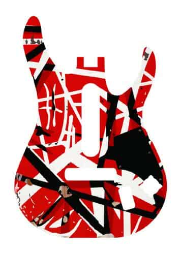 Amazon.com: Guitar Hero: Van Halen Guitar Faceplate: Video ...
