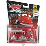 Mattel y0539 – Disney Pixar Cars – Deluxe en Grandes Pointures la Cast Vehicle, rouge