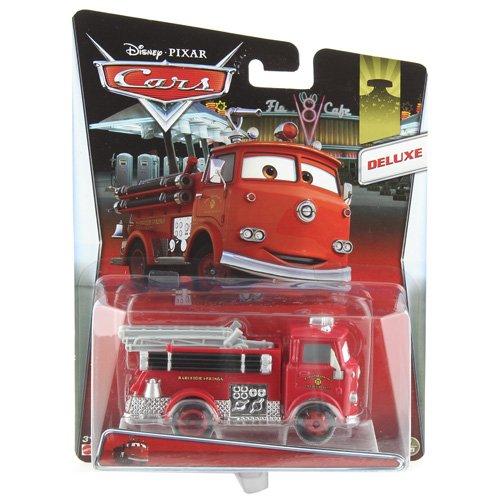 Mattel Y0539 - Disney Pixar Cars Deluxe Véhicule extra grand – Métal moulé et plastique – Rouge
