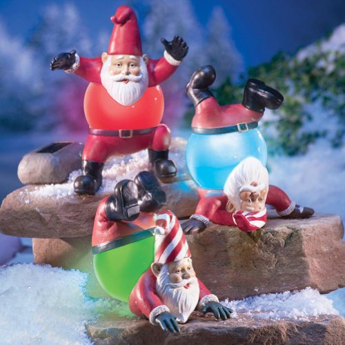 Tumbling Christmas Gnomes By Collections Etc