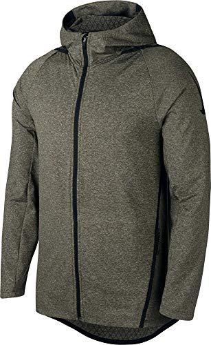 NIKE Men's NTK Dry Max Hooded Full Zip Jacket