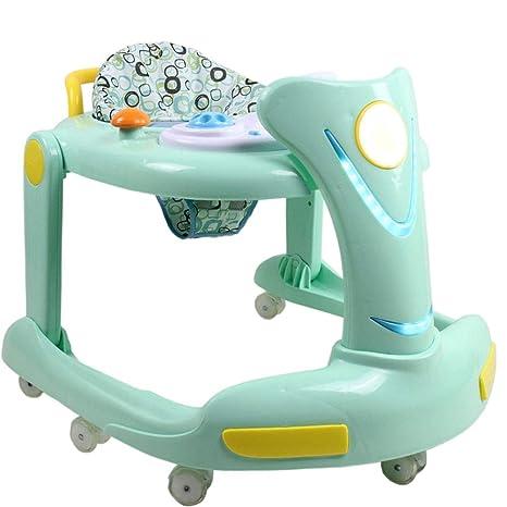 YOLL Anti-Vuelco Andador, Andadores Bebé con Freno Plegable ...