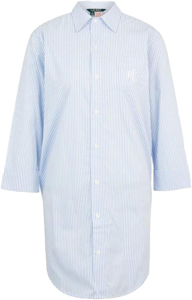 Ralph Lauren Heritage Essentials I815197 - Camisa para mujer azul claro XS: Amazon.es: Ropa y accesorios