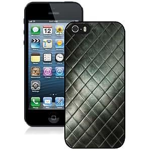 NEW Unique Custom Designed iPhone 5S Phone Case With Posh Texture_Black Phone Case