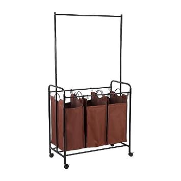 Amazon.com: Yosooo - Organizador de lavandería con 3 bolsas ...