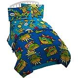 Nickelodeon Teenage Mutant Ninja Turtles Team Turtles Twin Reversible Comforter