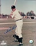 Autographed Kiner Photo - 8X10 Posing w Bat COA - Autographed MLB Photos