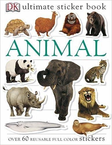 Book Ultimate Sticker Book: Animal (Ultimate Sticker Books)