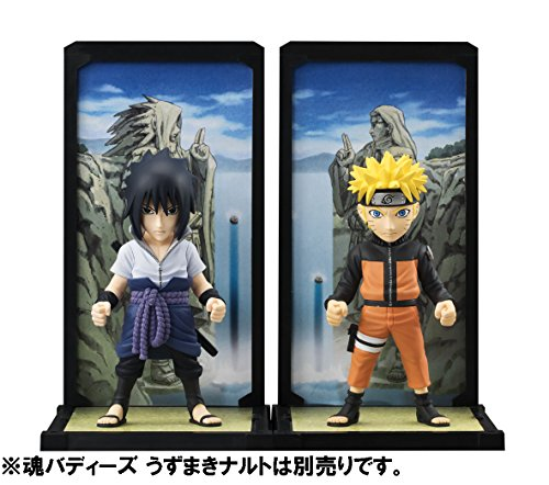 """Bandai Tamashii Nations Buddies Sasuke Uchiha """"Naruto Shippuden"""" Action Figure"""