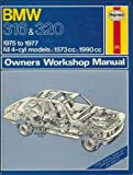 BMW Owners Workshop Manual, J. H. Haynes and A. K. Legg, 0856962767