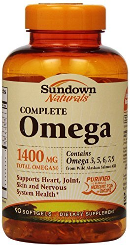 sundown Naturals Complete Omega Dietary Supplement Softgels,