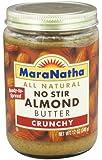 MaraNatha - No Stir Almond Butter Crunchy - 12 oz.