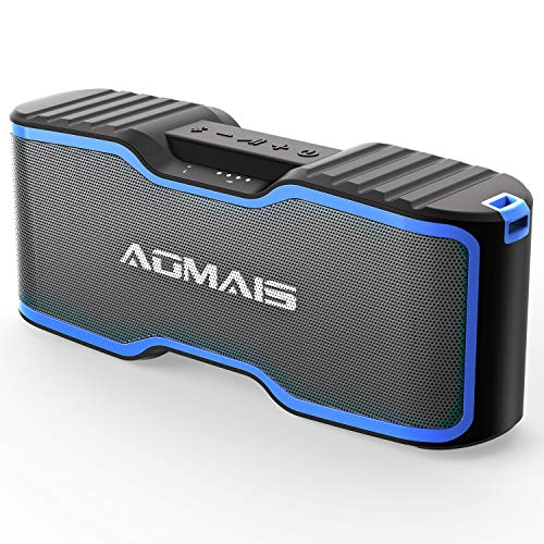AOMAIS Sport II+ Bluetooth Speakers, Portable Wireless Speaker Louder Sound, IPX7 Waterproof, 20 Hours Playtime, 99 ft Bluetooth Range & Built-in Mic, Sport II Upgraded Version Pool Party, Beach