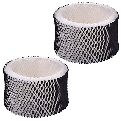 Techypro 2-Pack Holmes HWF62 Humidifier Filter Replacement for Holmes Models HM1281, HM1701, HM1761, HM1300 & HM1100; Replaces Part # HWF62, HWF62D