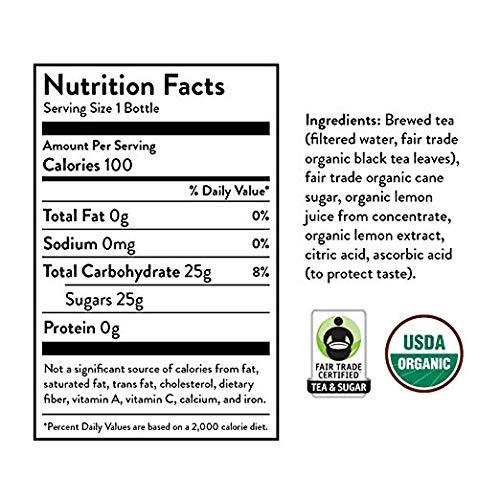 Honest Tea Organic Fair Trade Half Tea & Half Lemonade Gluten Free, 16.9 Fl. Oz, 32 Pack (32 Pack) by Honest Tea (Image #4)