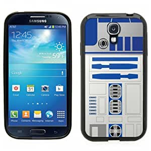 Samsung Galaxy S4 SIIII Black Rubber Silicone Case - Star Wars R2D2 Original Style