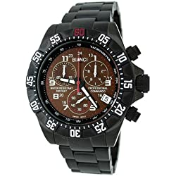 "Roberto Bianci Men's 1877GUN_BRO ""Professional Commando"" Watch"