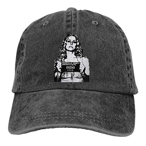 TammyRLewis Unisex Devil's Rejects Baby Sheri Moon Zombie Horror Movie Fashion Cool Adult Adjustable Denim Cowboy Hat ()