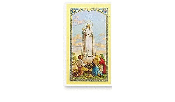 Amazon.com: Gifts by Lulee, LLC Oracion a La Virgen de ...