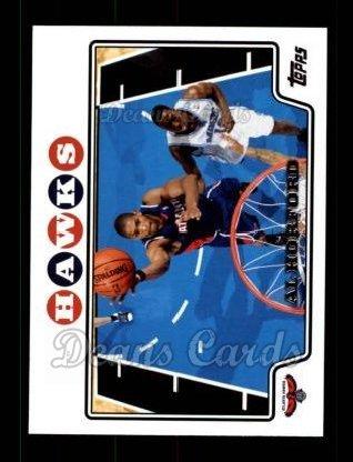2008 Topps # 107 Al Horford Atlanta Hawks (Basketball Card) Dean's Cards 8 - NM/MT Hawks ()