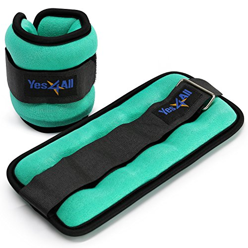 Best Adjustable Wrist Weights: Yes4All Set Of 2 Ankle Weights/Wrist Weights With
