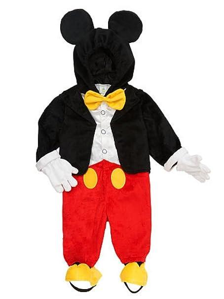 Disney - Disfraz de bebé Niños Mickey Mouse Sudadera con ...