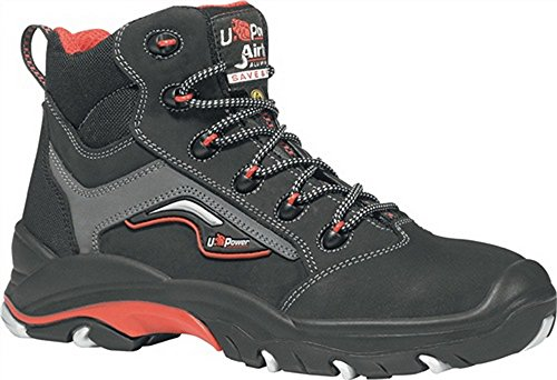 Scarpa Antinfortunistica Pelle Nabuk Naturale Idrorepellente Robust S3 ESD U-Power 47