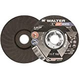 "Walter ZIP Wheel High Performance Cutoff Wheel, Type 27, Round Hole, Aluminum Oxide, 5"" Diameter, 3/64"" Thick, 7/8"" Arbor, Grit A-60-ZIP (Pack of 25)"