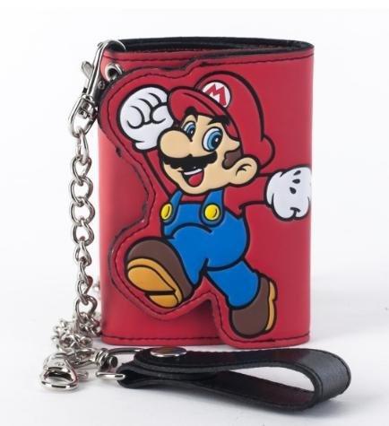 Nintendo Mario Red Chain Wallet