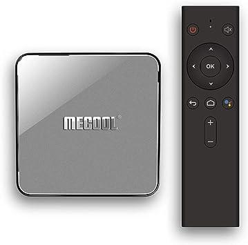 Pro KM3 Android 9 TV Box 4GB / 64GB Quad Core Red Player Soporte Google BT4.0 WiFi / 3D / 4K Ultra HD/H.265 Smart Set-Top Box: Amazon.es: Electrónica