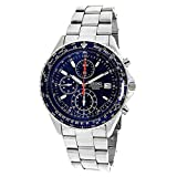 Seiko Men's SND255P1 Flightmaster Pilot Slide Rule Chronograph Watch