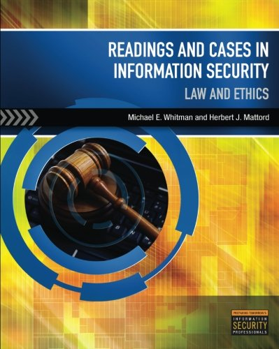Readings & Cases in Information Security