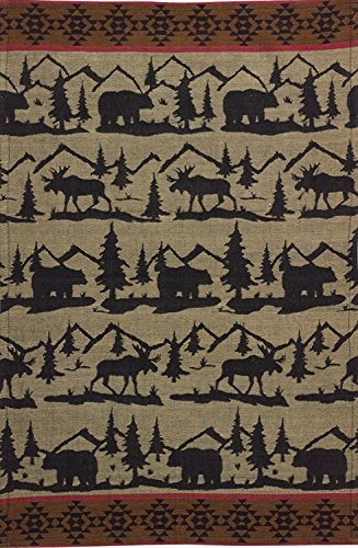 Great Outdoors Cotton Jacquard Towel - Set of 2