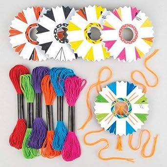 Baker Ross Pulseras, Colores variados, 9,5 cm, 4 Pack: Amazon.es ...