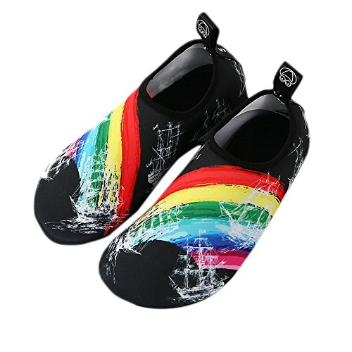 Anti Dry Quick Shoes Water zicai Skid Rainbow Women qvzzxBp