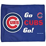 "Chicago Cubs ""Go Cubs "" RALLY TOWEL 15"" X 18"" by Wincraft"